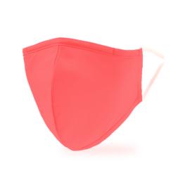 Rózsaszín felnőtt mosható 2 rétegű textil maszk