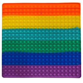 Pop It stresszoldó játék ( négyzet, 30×30cm)