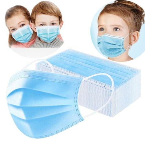 Gyerek Védőmaszk 3 Rétegű szájmaszk