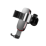 Kép 1/4 - Baseus_MetalAge autós telefontartó ezüst