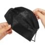Kép 4/4 - Fekete védőmaszk 3 rétegű stretch