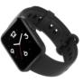 Kép 3/7 - Xiaomi Mi watch Lite Fekete - oldalsó előlnézet - döntött
