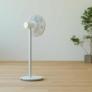 Kép 9/9 - Xiaomi SmartMi Fan 2S ventilátor nappali hátsó-oldalnézet